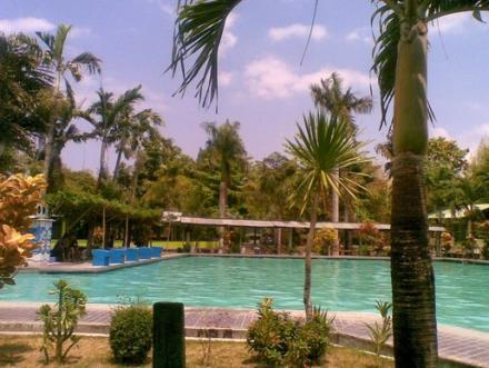 Keindahan Objek Wisata Tirta Tamansari Water Byur di Trirenggo Bantul Yogyakarta