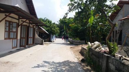 Verifikasi Lapangan Lokasi Pekerjaan Drainase Dusun Sragan