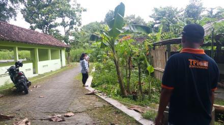 Verifikasi Lapangan Talud Jalan Pedukuhan Cepoko RT 004 & RT 006