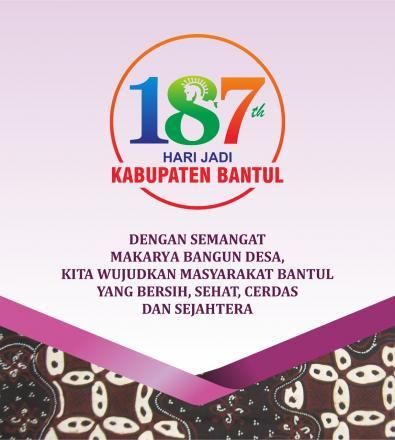 Hari Jadi Kabupaten Bantul Ke 187
